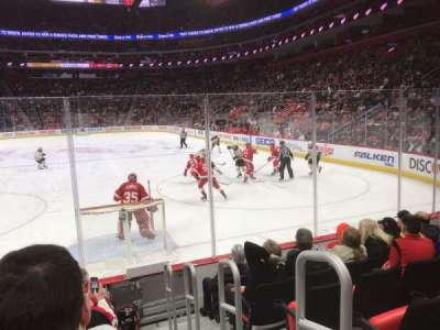 Little Caesars Arena, section: 103, row: 6, seat: 1