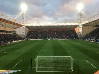 Deepdale, section: N, row: 15, seat: 88