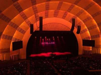 Radio City Music Hall section 2nd Mezzanine 6