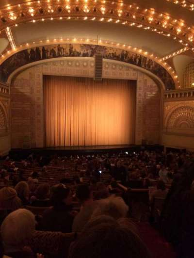 Auditorium Theatre, section: Dress-L, row: HH, seat: 501