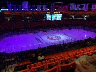 Nassau Veterans Memorial Coliseum section 205
