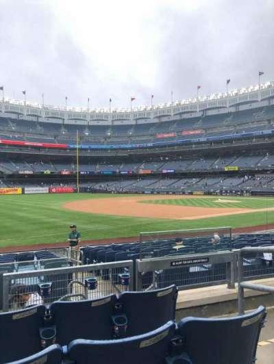 Yankee Stadium section 128