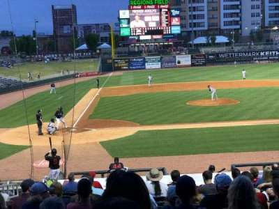 Regions Field, section: 111, row: V, seat: 5