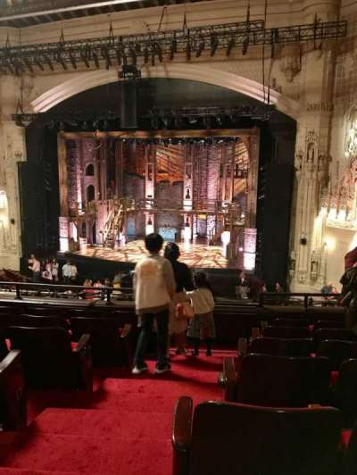 Orpheum Theatre (San Francisco) section Mezzanine R