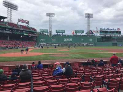 Fenway Park section Field Box 36