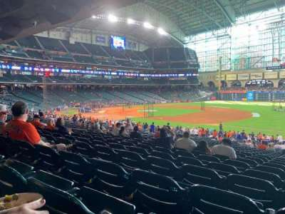 Minute Maid Park, section: 128, row: 36, seat: 19