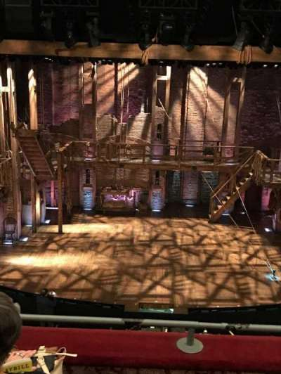 Richard Rodgers Theatre, section: FMezz, row: C, seat: 107