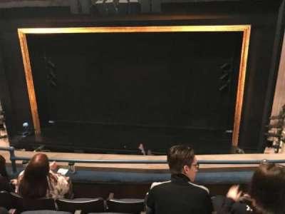 Ambassador Theatre, section: Front mezzanine - center, row: D , seat: 112