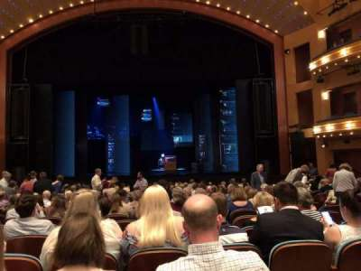 Procter And Gamble Hall at the Aronoff Center section Orchestra C