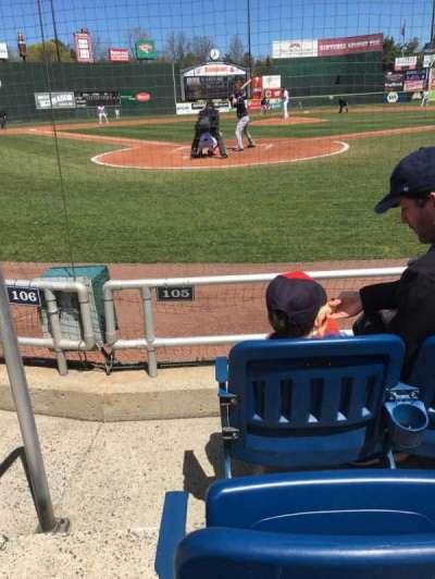 Hadlock Field, section: 105, row: C, seat: 9