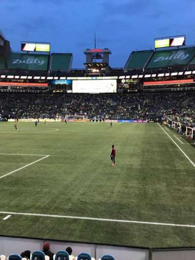 CenturyLink Field, section: 145, row: A, seat: 3