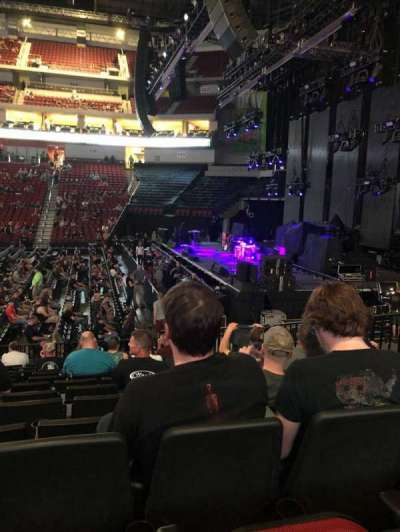 Pinnacle Bank Arena, section: 105, row: 13, seat: 9