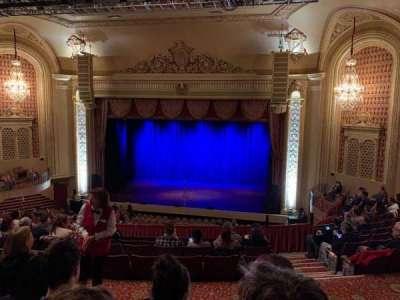 Genesee Theatre, section: Mezzanine Center, row: M, seat: 201