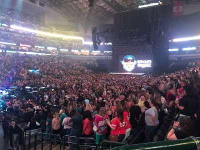 American Airlines Center section 110