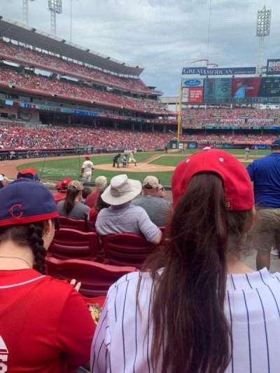 Great American Ball Park, section: 127, row: M, seat: 1