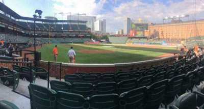 Oriole Park at Camden Yards section 34