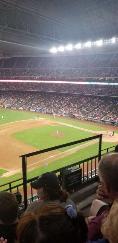 Minute Maid Park, section: 309, row: 3, seat: 22