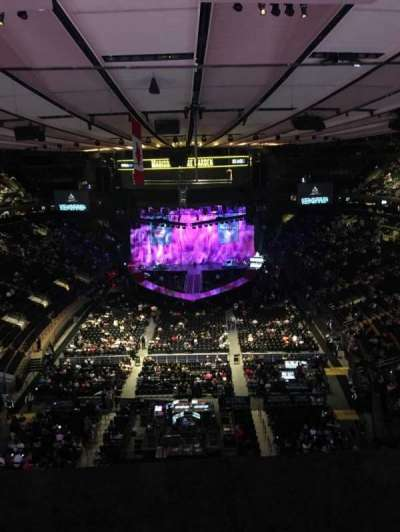 Madison Square Garden section 305
