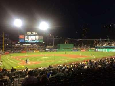 PNC Park, section: 114, row: R, seat: 26