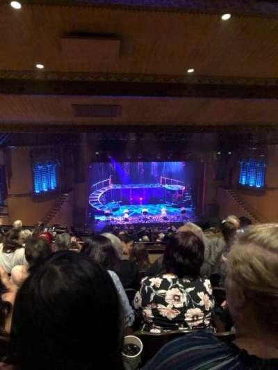 Fox Performing Arts Center, section: Center Mezzanine, row: NN, seat: 126