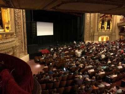 Chicago Theatre section Mezzanine Box X