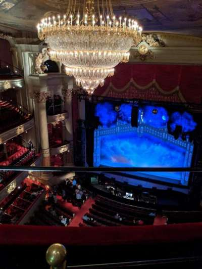 Academy of Music, section: Amphitheater D, row: B, seat: 2