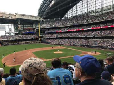 Miller Park, section: 225, row: 6, seat: 11