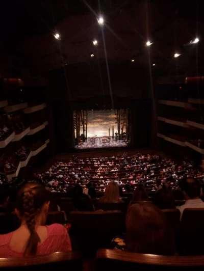 Carol Morsani Hall at the Straz, section: Balcony, row: E, seat: 105