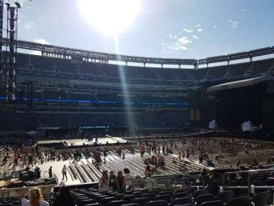 MetLife Stadium section 115c