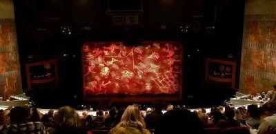 Minskoff Theatre section RMEZ
