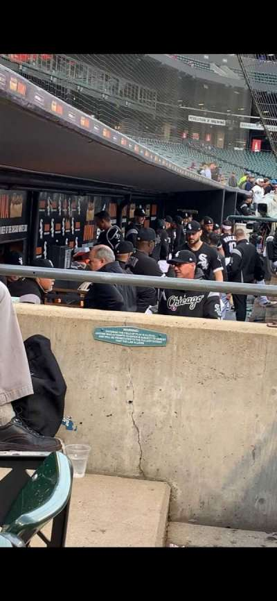 Guaranteed Rate Field section 136
