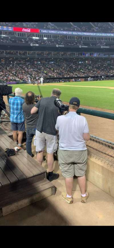 Guaranteed Rate Field section 121