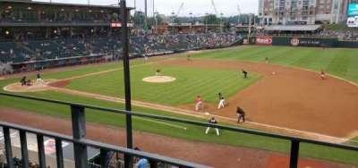 BB&T Ballpark (Charlotte) section 203
