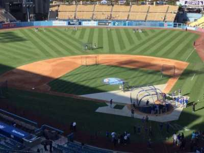 Dodger Stadium, section: 7RS, row: M, seat: 3