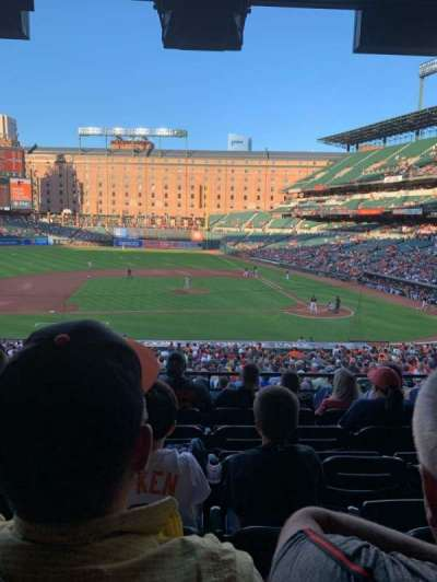 Oriole Park at Camden Yards section 49
