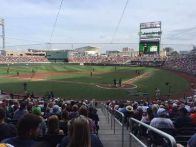 TD Ameritrade Park section 114