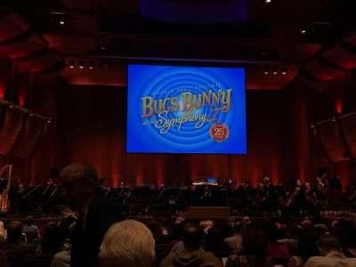 David Geffen Hall, section: Orchestra 1, row: Q, seat: 104