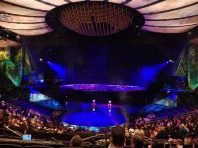 Mystère Theatre at Treasure Island, section: 203, row: HH, seat: 17