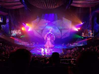 Mystère Theatre at Treasure Island, section: 203, row: HH, seat: 18