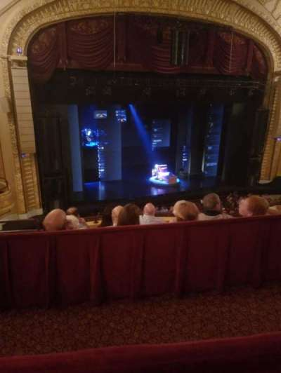 Connor Palace, section: Mezzanine L, row: D, seat: 204