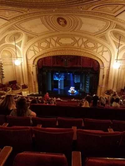 Connor Palace, section: Balcony CR, row: U, seat: 206-209