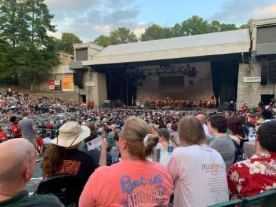 Cadence Bank Amphitheatre, section: Orch-R, row: E, seat: 6