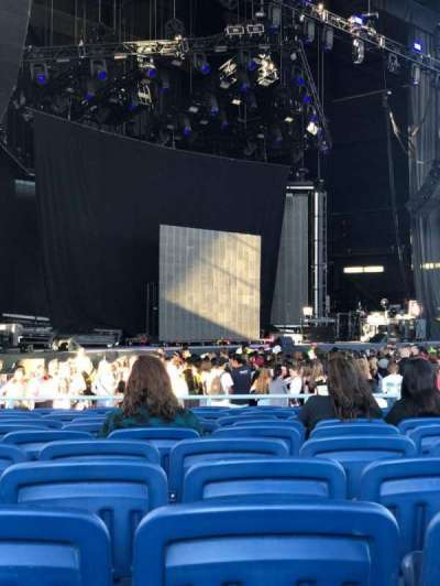 Budweiser Stage section 203