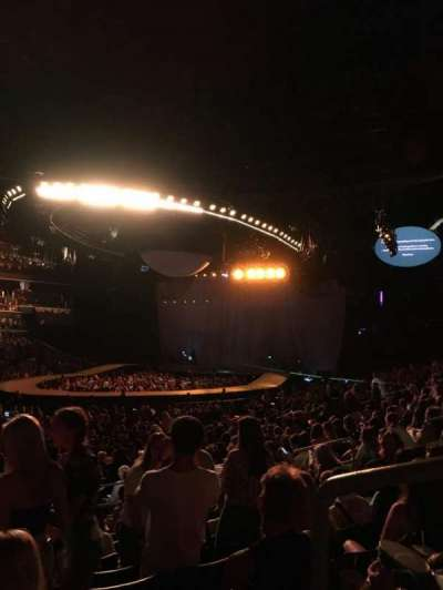 Spectrum Center, section: 116, row: N, seat: 14
