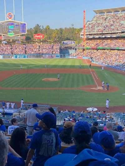 Dodger Stadium, section: 121LG, row: L, seat: 3