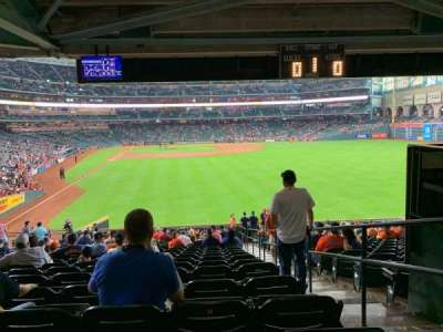 Minute Maid Park section 152
