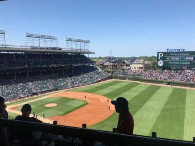 Wrigley Field section 428R
