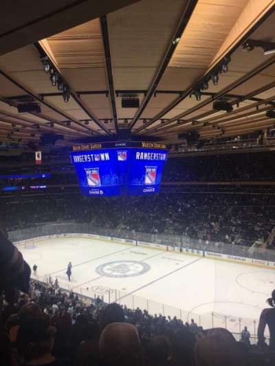Madison Square Garden section 214