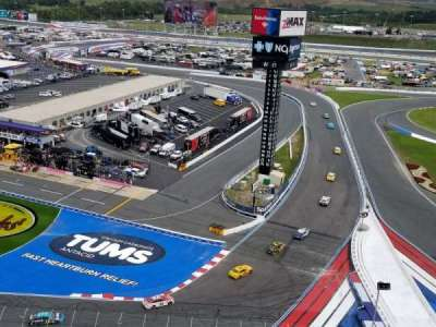 Charlotte Motor Speedway section E