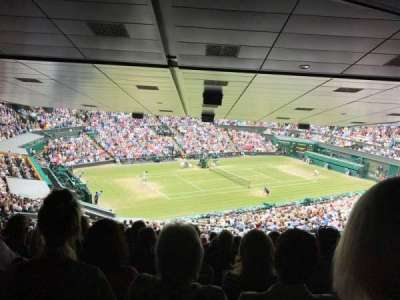 Wimbledon, Centre Court section 523